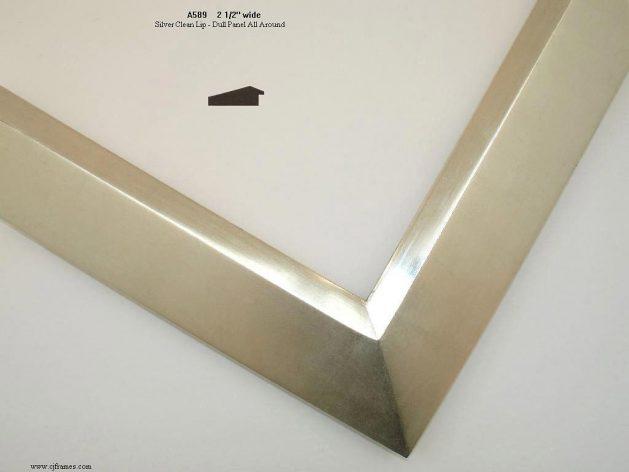 AMCI-Regence: CJFrames - Contemporary Frames - Gold Leaf - Black over Metal - Antique White - Ebony: A589