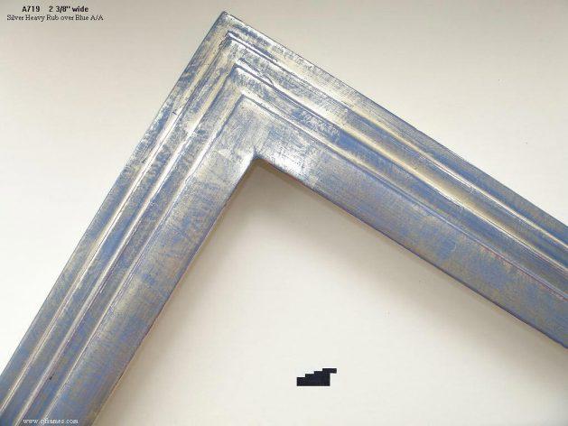 AMCI-Regence: CJFrames - Contemporary Frames - Gold Leaf - Black over Metal - Antique White - Ebony: A719