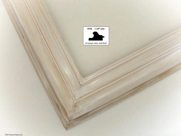 AMCI-Regence: CJFrames - Contemporary Frames - Gold Leaf - Black over Metal - Antique White - Ebony: B586