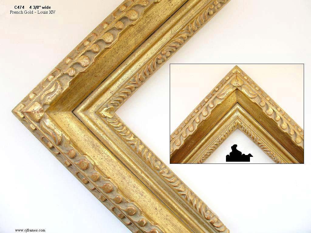 AMCI-Regence: CJFrames: Hand Carved Frames In A Variety Of Styles: C474