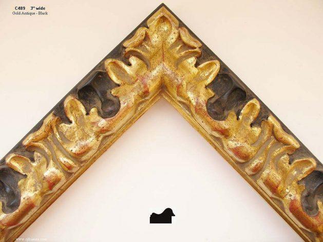 AMCI-Regence: CJFrames: Hand carved frames in a variety of styles: c489