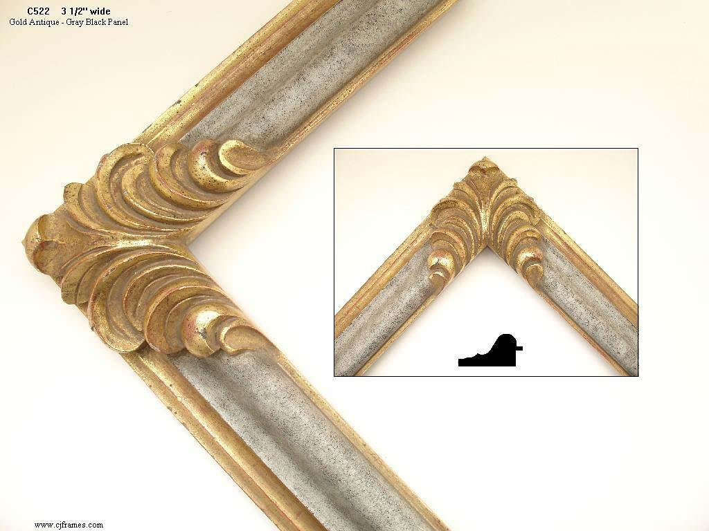 AMCI-Regence: CJFrames: Hand Carved Frames In A Variety Of Styles: C522