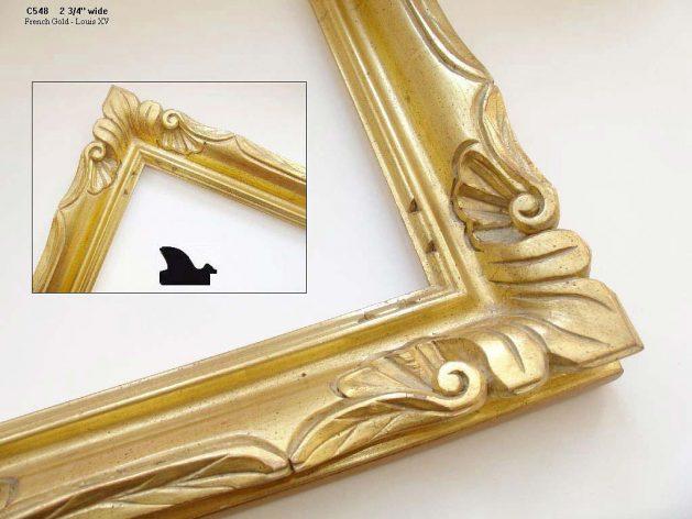 AMCI-Regence: CJFrames: Hand carved frames in a variety of styles: c548