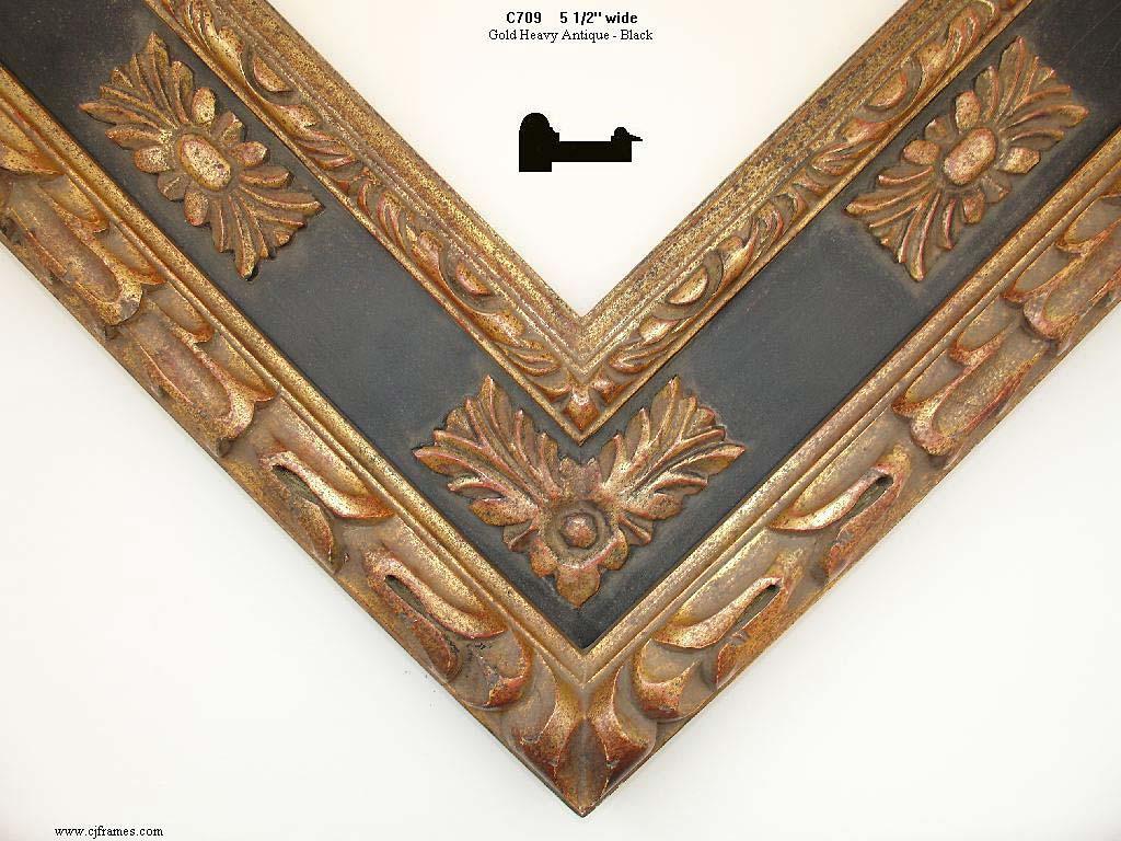 AMCI-Regence: CJFrames: Hand Carved Frames In A Variety Of Styles: C709