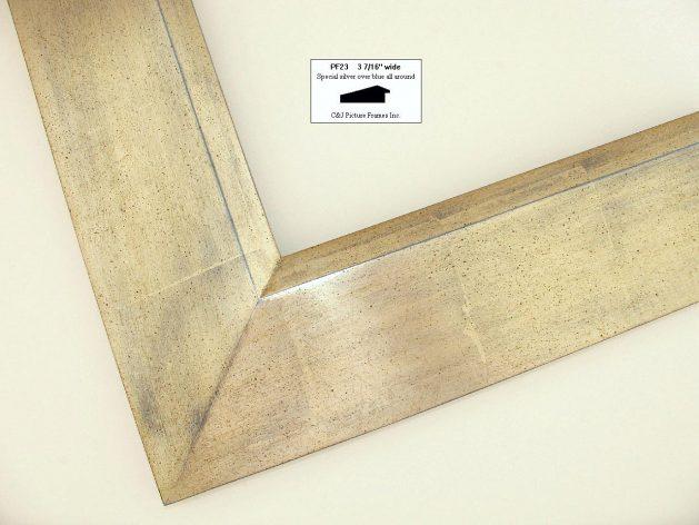 AMCI-Regence: CJFrames - Contemporary Frames - Gold Leaf - Black over Metal - Antique White - Ebony: PF23