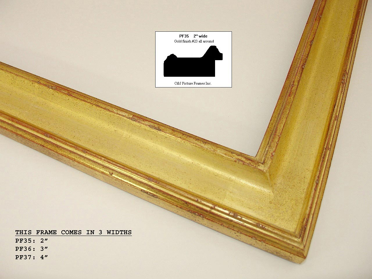 "1-1/2"" to 2-1/4"" Frames in 12k and 22k gold Our currated recomendations for small paintings"
