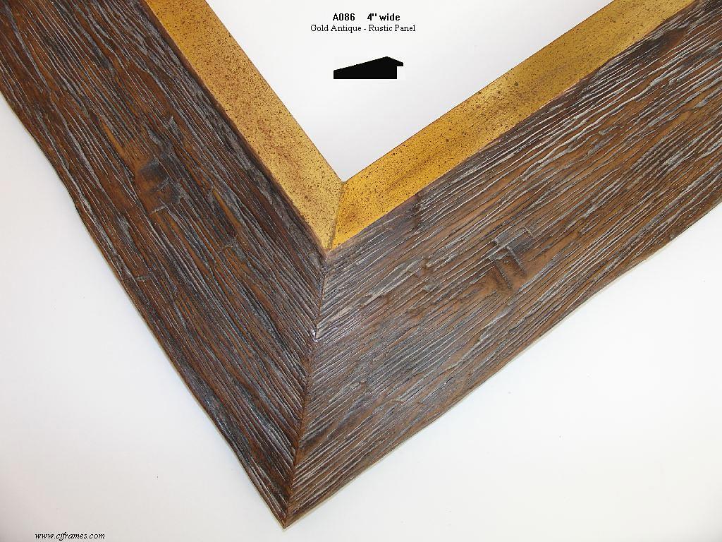 AMCI-Regence: CJFrames: Wood Finishes - Amber - Bronzino - Rosewood - Darkwood - Bamboo - Rustic: A086