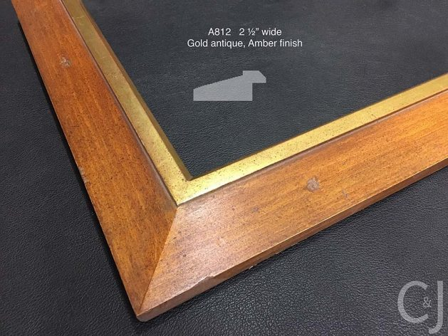 AMCI-Regence: C&J Picture Frames: a812_amber