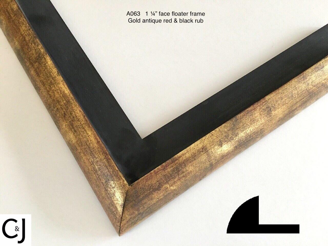 A063 Gold Antique