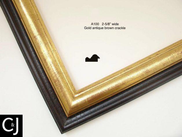 AMCI-Regence: CJFrames: Similoro - Similoro wash - ML wash - Black over Metal - Bronze: a100