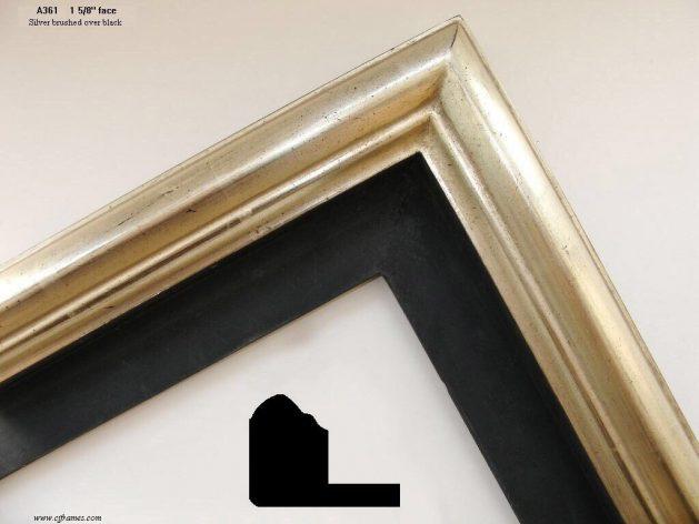 AMCI-Regence: CJFrames: Floater Frames - 22k Gold - 12k White Gold: a361