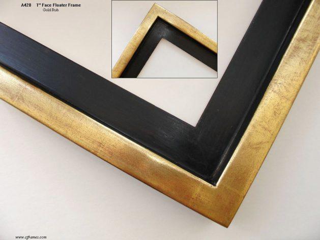 AMCI-Regence: CJFrames: Floater Frames - 22k Gold - 12k White Gold: a428