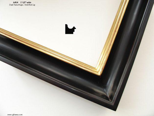 AMCI-Regence: CJFrames: Black - Tinta Negra - Dutch Black - Ink finishes: a454