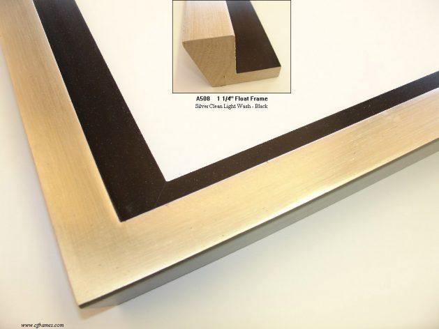 AMCI-Regence: CJFrames: Floater Frames - 22k Gold - 12k White Gold: a508