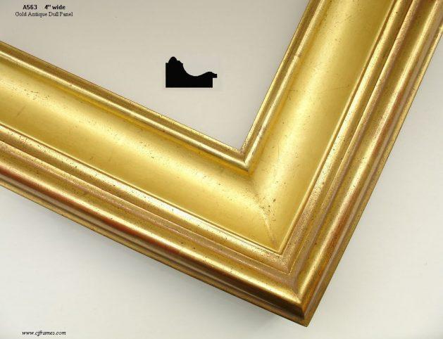 AMCI-Regence: CJFrames: Hand finished - 22k Gold - 12k White Gold: a563-gold