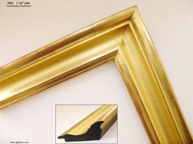 AMCI-Regence: CJFrames: Hand finished - 22k Gold - 12k White Gold: a687