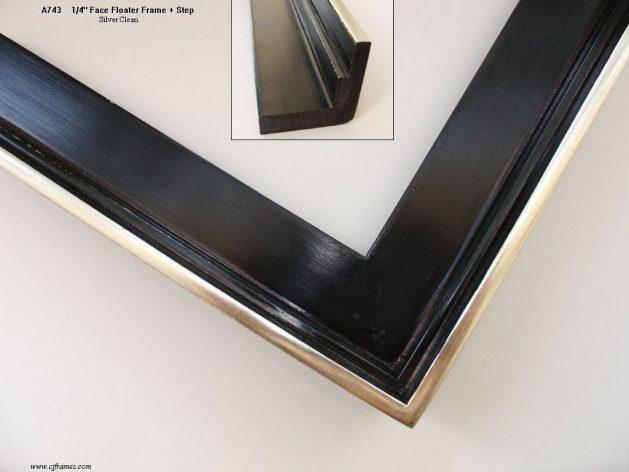 AMCI-Regence: CJFrames: Floater Frames - 22k Gold - 12k White Gold: a743