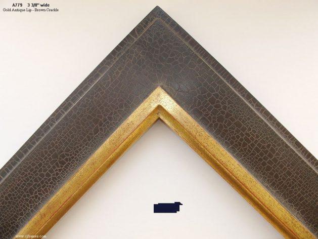 AMCI-Regence: CJFrames: 22k or 12k Gold with Brown Crackle: a779
