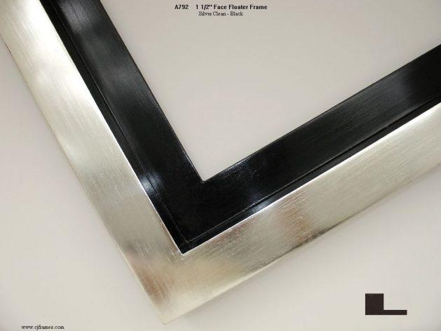 AMCI-Regence: CJFrames: Floater Frames - 22k Gold - 12k White Gold: a792