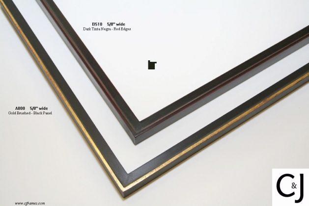 AMCI-Regence: CJFrames: Gold Leaf - Sully - Ropes - Stars - Bamboo: a800-b510