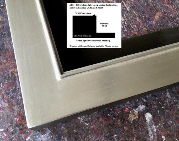 AMCI-Regence: CJFrames: Floater Frames - 22k Gold - 12k White Gold: a944