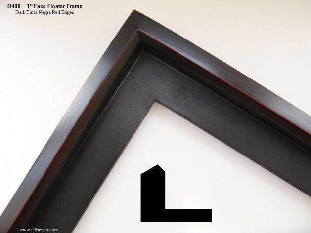 AMCI-Regence: CJFrames: Floater Frames - 22k Gold - 12k White Gold: b480