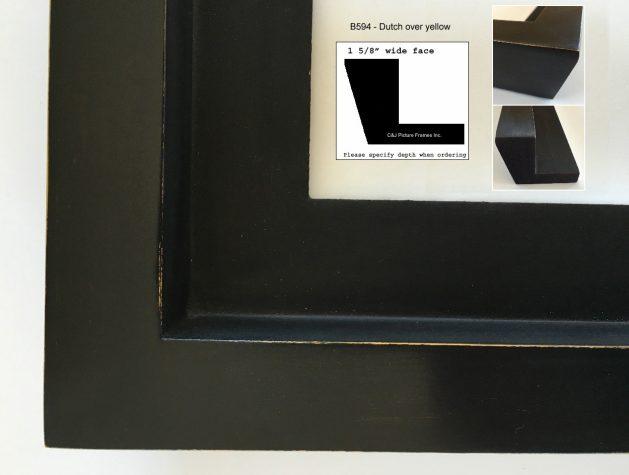 AMCI-Regence: CJFrames: Floater Frames - 22k Gold - 12k White Gold: b594