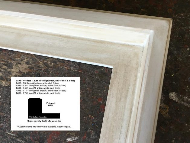AMCI-Regence: CJFrames: Floater Frames - 22k Gold - 12k White Gold: b599
