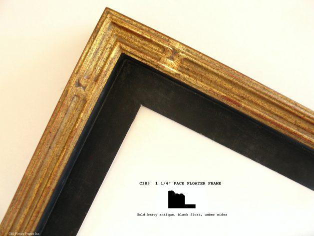 AMCI-Regence: CJFrames: Floater Frames - 22k Gold - 12k White Gold: c383