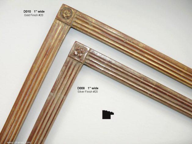 AMCI-Regence: CJFrames: Handcrafted frames in a variety of styles: d010-d008