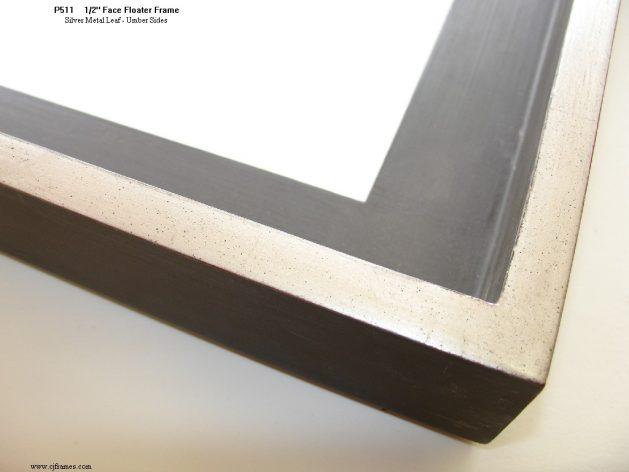 AMCI-Regence: CJFrames: Floater Frames - 22k Gold - 12k White Gold: p511