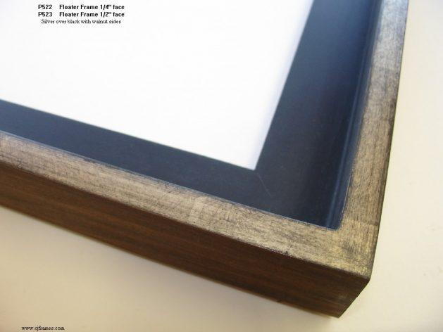 AMCI-Regence: CJFrames: Floater Frames - 22k Gold - 12k White Gold: p522-523