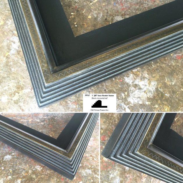 AMCI-Regence: CJFrames: Floater Frames - 22k Gold - 12k White Gold: pf67