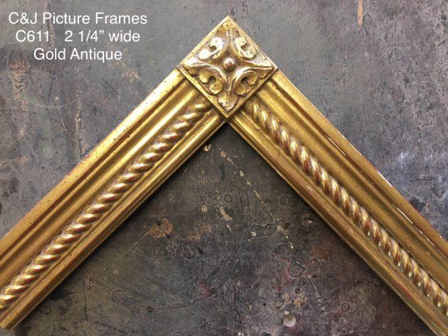 AMCI-Regence: CJFrames: Gold Leaf - Sully - Ropes - Stars - Bamboo: c611