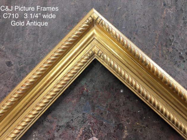 AMCI-Regence: CJFrames: Gold Leaf - Sully - Ropes - Stars - Bamboo: c710