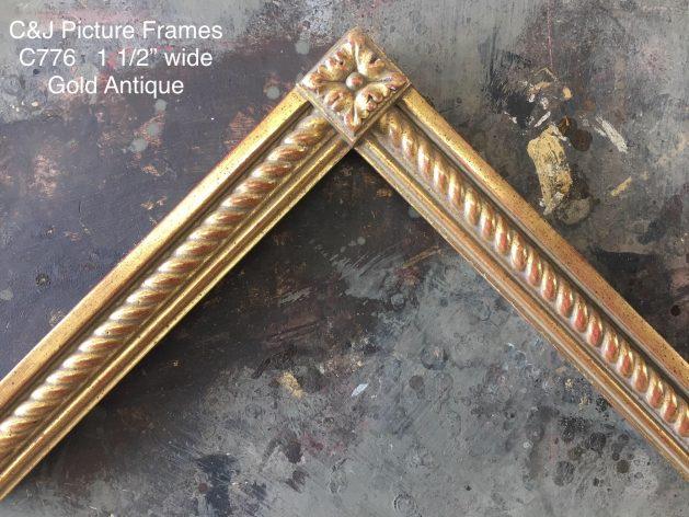 AMCI-Regence: CJFrames: Gold Leaf - Sully - Ropes - Stars - Bamboo: c776