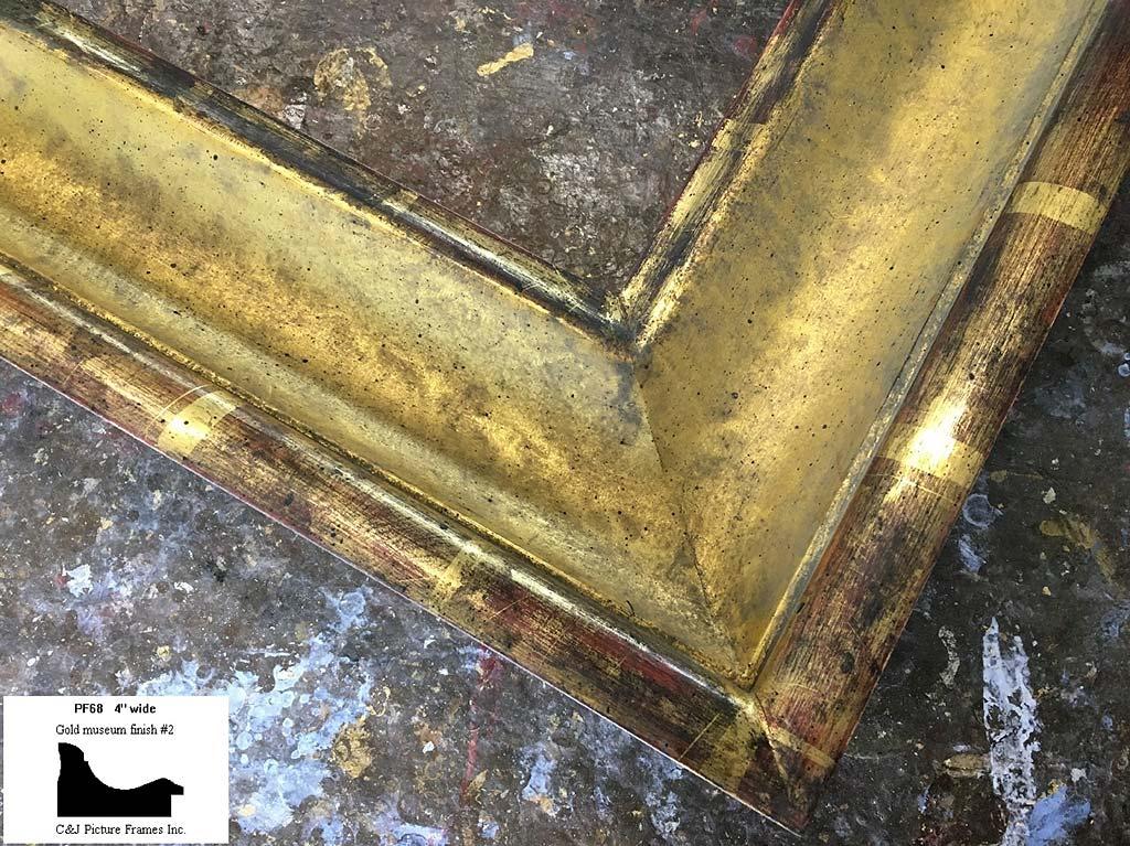 F75- Gold Museum Finish #2