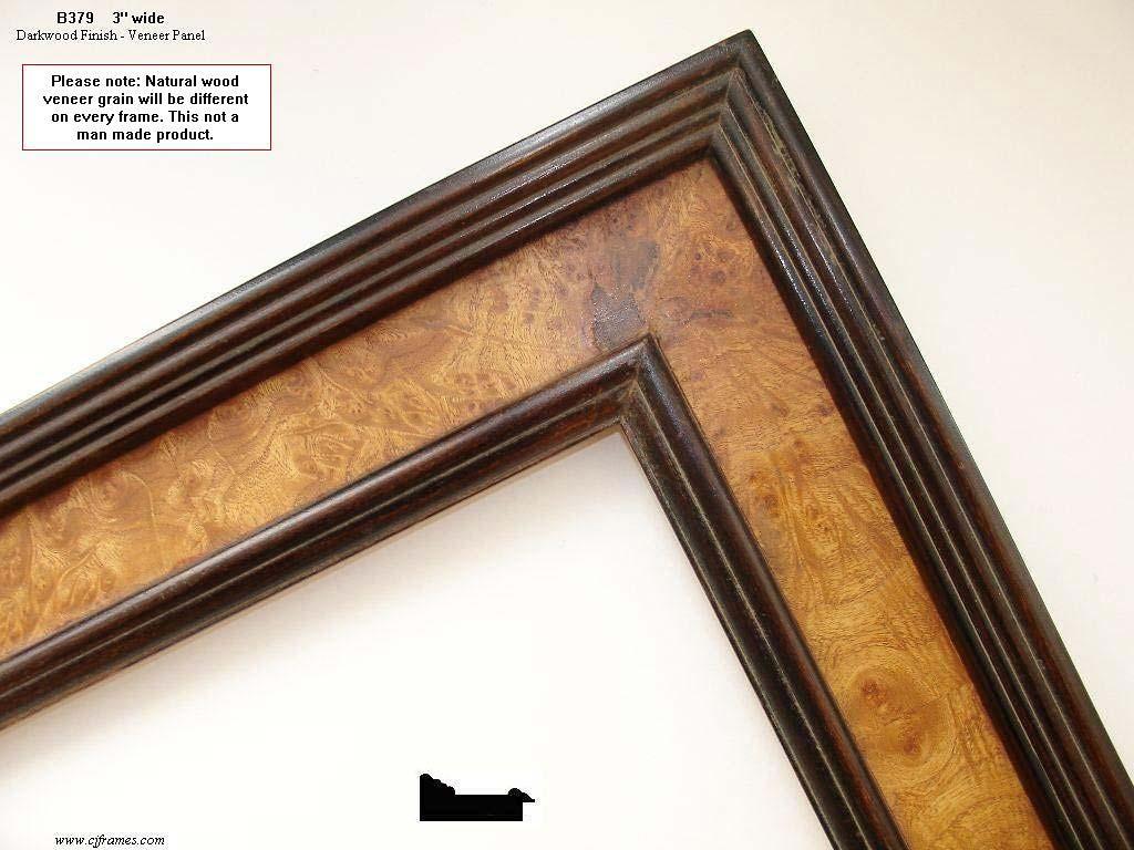 F57- Dark-wood Finish: Dark Stain Finish Often Combined With Veneer Panels.