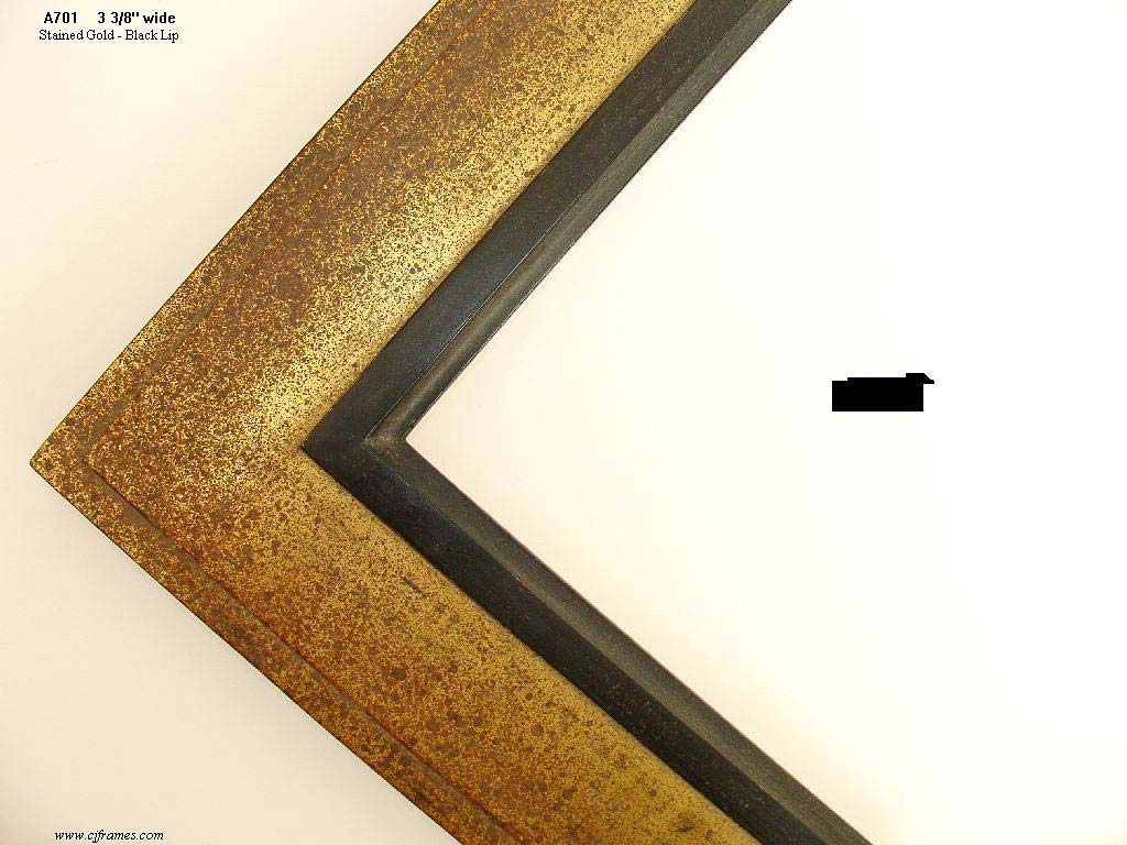F26- Stained Gold: 22k Gold With Stained Antique Finish.
