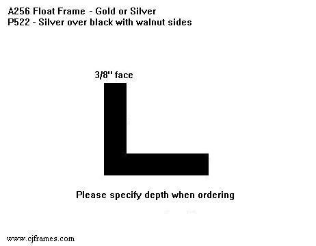 "3/8"" face <span class=""floaterPlease"">PLEASE SPECIFY DEPTH WHEN ORDERING</span>"