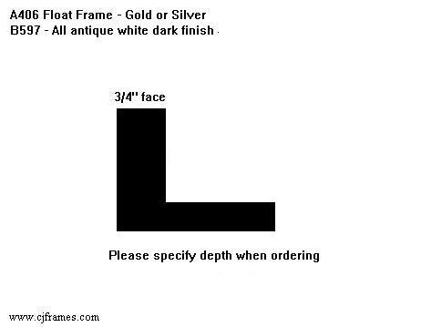 "3/4"" face <span class=""floaterPlease"">PLEASE SPECIFY DEPTH WHEN ORDERING</span>"
