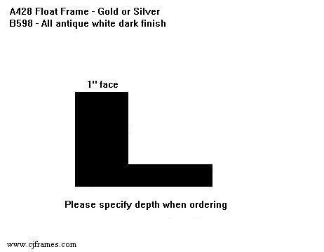 "1"" face <span class=""floaterPlease"">PLEASE SPECIFY DEPTH WHEN ORDERING</span>"