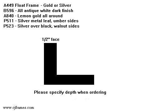 "1/2"" face <span class=""floaterPlease"">PLEASE SPECIFY DEPTH WHEN ORDERING</span>"
