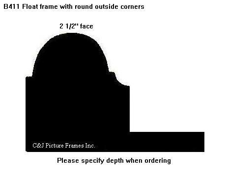 "2 1/2"" face <span class=""floaterPlease"">PLEASE SPECIFY DEPTH WHEN ORDERING</span>"