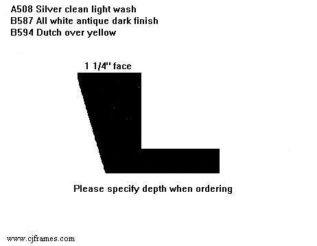 "1 1/4"" face <span class=""floaterPlease"">PLEASE SPECIFY DEPTH WHEN ORDERING</span>"